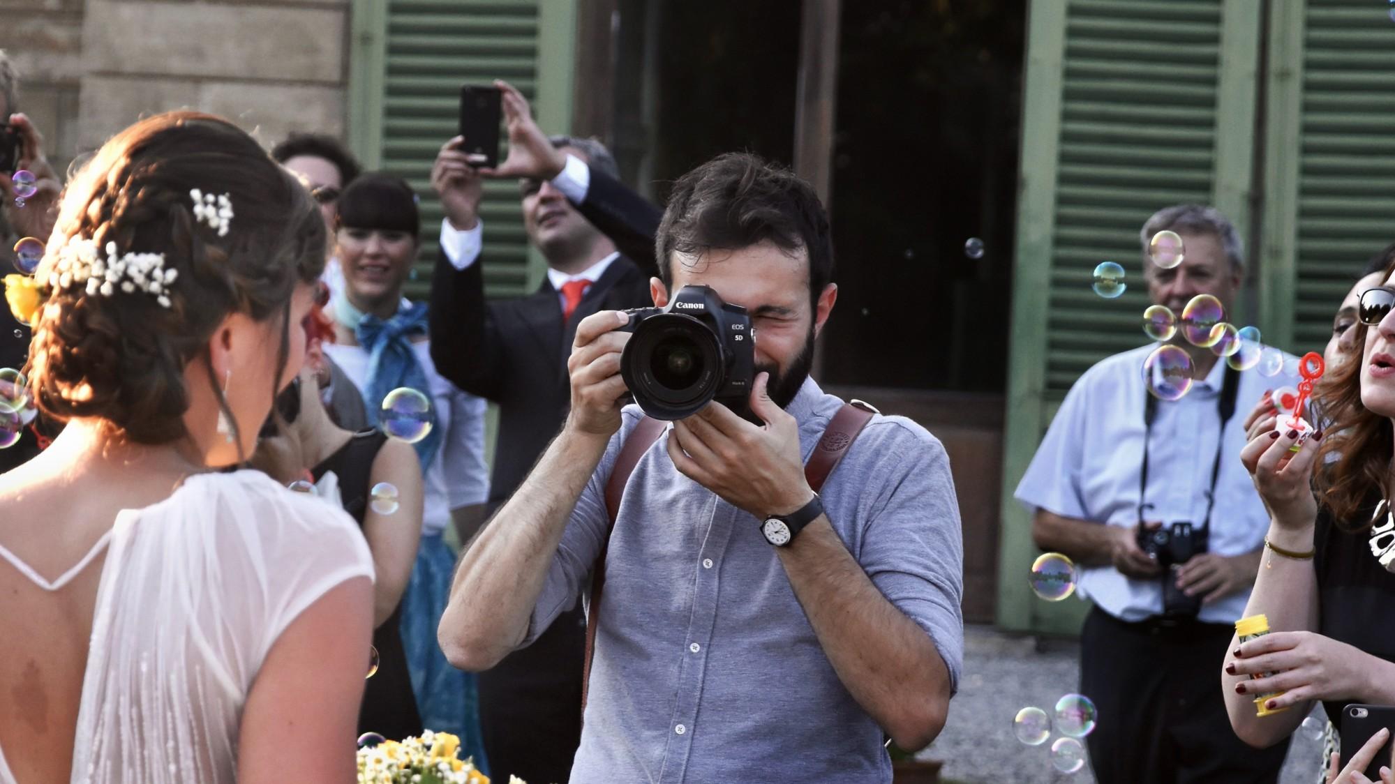 Un photographe pour son mariage